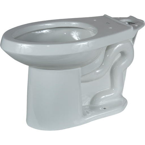 Gerber Viper Toilet Bowl, Elongated, 1.6 Gpf/1.28 Gpf, Bone