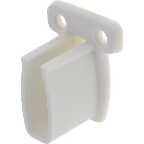 Closetmaidå¨ Shelf End Bracket With Preloaded Anchor & Pins, for Closet Shelf