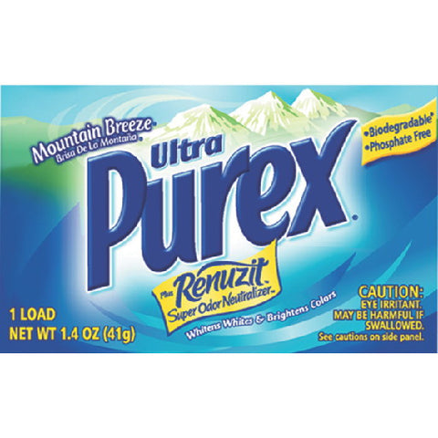 Ultra Purex With-Son Dry Detergent Vendor Pack 1.4 Oz 1 Load