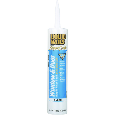 Liquid Nailså¨ Super Caulk Clear 10.1 oz. Cartridge