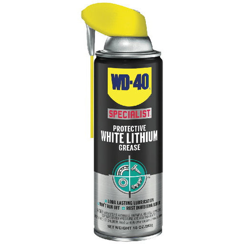 Wd-40 Specialist White Lithium Grease, 10 oz.