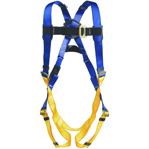 Litefit H311002 Standard 1 D Ring Harness, Medium/Large