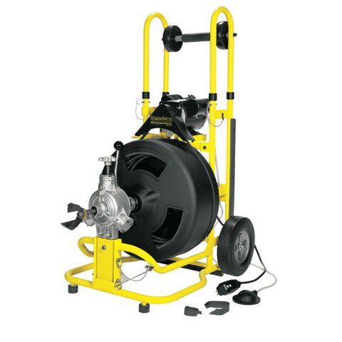 "3/4 hp Speedway Drain Cleaning Machine with 3/4"" x 100' Cable"