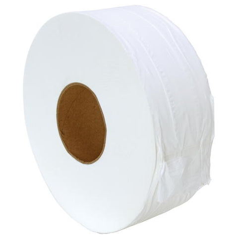 Bright White Premium Jrt 2-Ply Embossed Bath Tisse (12 Rolls per Case)