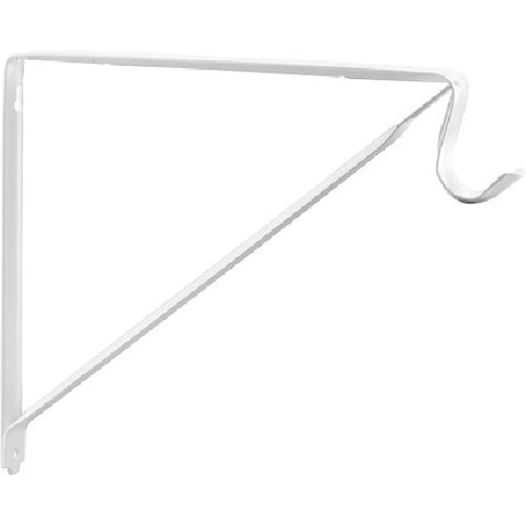 Prime-Line Shelf and Pole Support Bracket, 1 Each