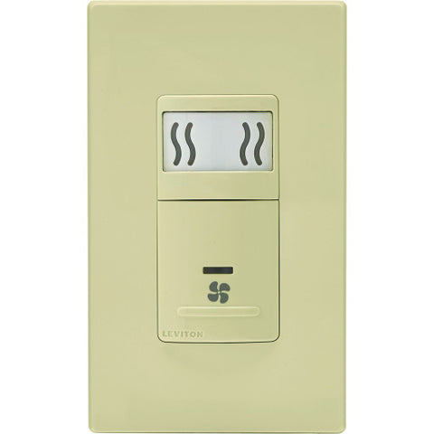 3 Amp Ivory Single-Pole Humidity Sensor and Fan Control