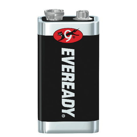 Eveready Heavy-Duty Battery 9 Volt, 12 Pack