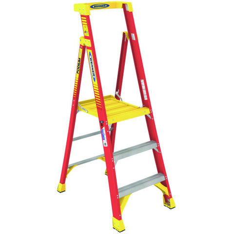 Type Ia Aluminum Podium Ladder, 3'