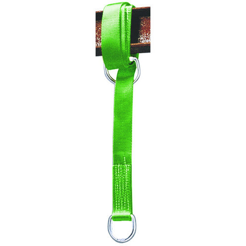 Millerå¨ 8183 Cross-Arm Anchorage Connector: 6' Cross-Arm Strap with 2 D-Rings