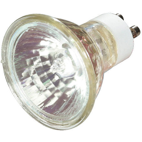 General Electric Metal Halide Lamp Mr16, 20 Watt, Gx10, Clear, High Intensity Discharge, Universal Burn Position, 12 Per Case