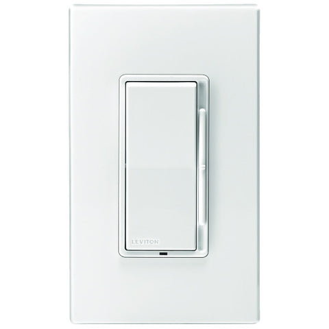 Decoraå¨ Rocker Slide Universal Dimmer Switch with Color Change Kit, 120 Vac, 1,000 Watts
