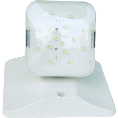 Emergency LED Light with 1 Adjustable Glare-Free Remote Head