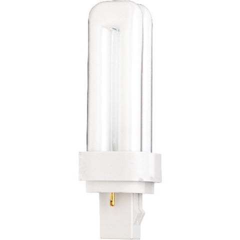 13 Watt Soft White PL-Type Compact Fluorescent Lamp with GX23-2 Base (50 per Case)