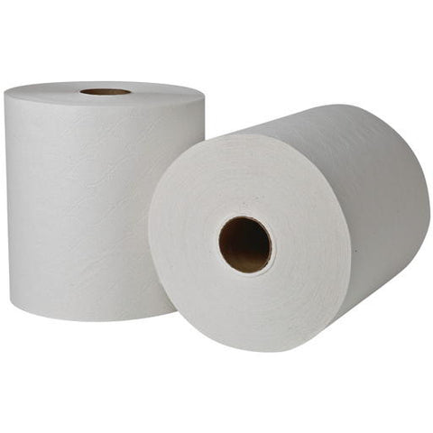 "8"" x 1,000' White Renownå¨ Select Controlled Use Roll 1-Ply Paper Towels"