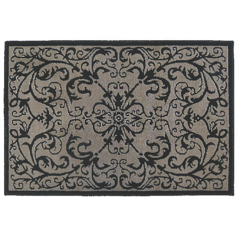 "Orian Rugs Scroll Black Accent Rug, 31"" X 45 In."