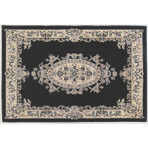 "Orian Rugs Medallion Black Accent Rug, 31"" X 45 In."
