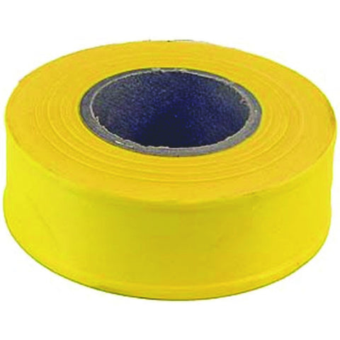 "Toolså¨ Flagging Tape, Yellow, 1-3/16"" X 300', 2 Mil"