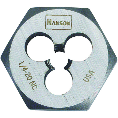 "Hexagon Machine Screw Dies 1/2"" - 20 Nf"