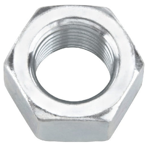 Zinc Hex Nut, 5-16 In.-18, 100 Per Pack