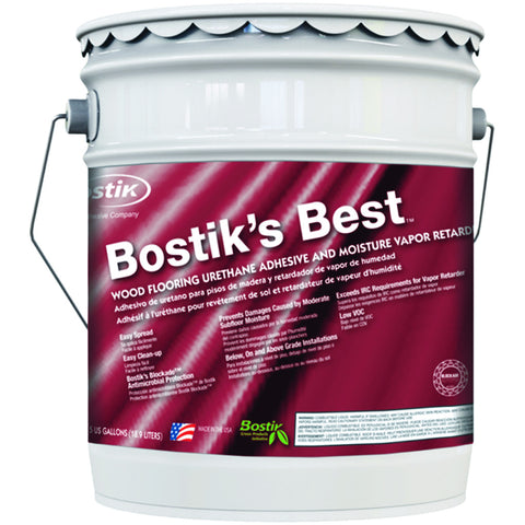 Bostik Best Hardwood Flooring Adhesive, 5 Gal