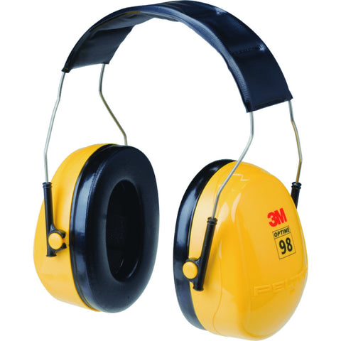 Peltor Optime 98 Series, Earmuff, Headband