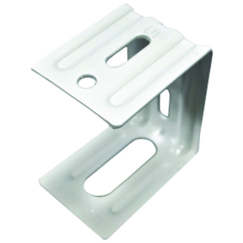 "Mini Blind Center Support Bracket with Screws for 2"" Faux Wood Blind, Set Includes 1 Bracket and 3 Screws"