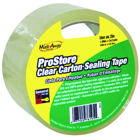 "Clear Carton Sealing Tape 2"" X 110 Yd."