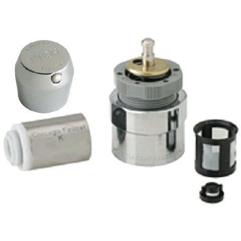 "1-3/4"" Chicago Faucetså¨ MVP‰ã¢ Lead-Free Metering Push Handle"