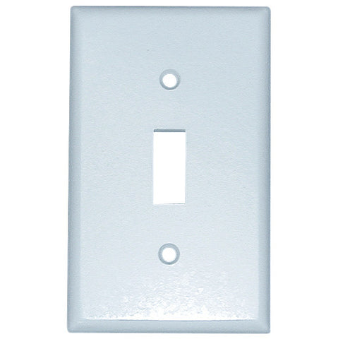 1-Gang Standard Toggle Switch Wall Plate