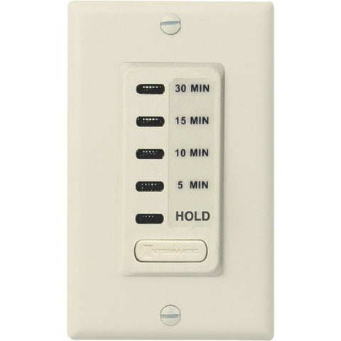 Intermatic Auto-Off Timer 5 To 30 Minute With Hold Feature Ivory