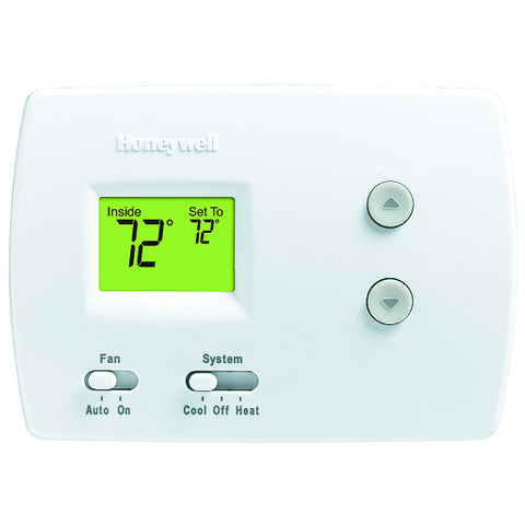 White PRO 3000 Non-Programmable Digital Thermostat (1 Heat/1 Cool)