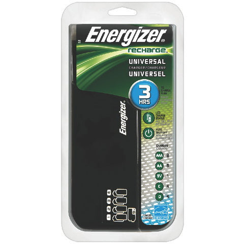 Energizerå¨ RecharGEå¨ Universal Battery Charger