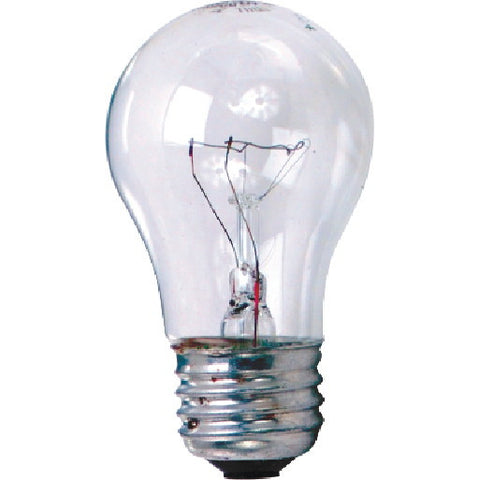 Sylvania Incandescent Lamp A21, 200 Watt, 130 Volt, Medium Base, Clear, 48 Per Case