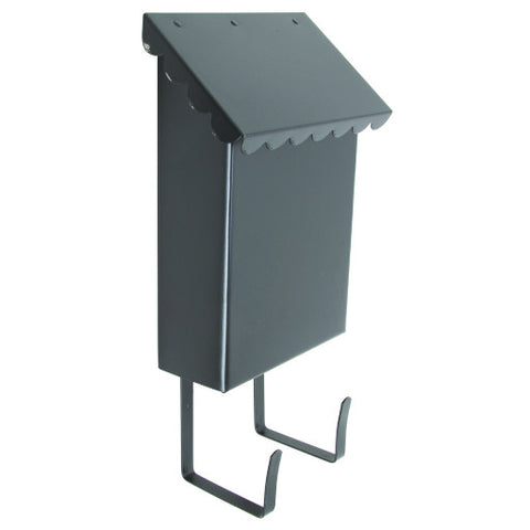 Mailbox Vertical Hardened Steel Black Satin