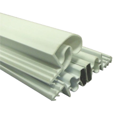 Strybuc Industries Magnetic Weatherstrip Set, White, 84X36X84 In.