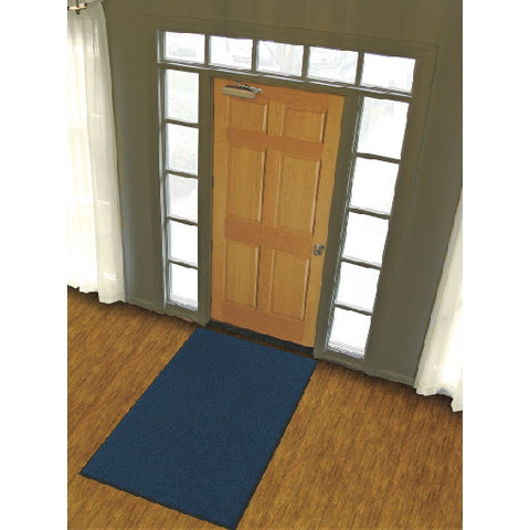 Entrance Matting 3 Ft X 5 Ft Navy Blue Uptown