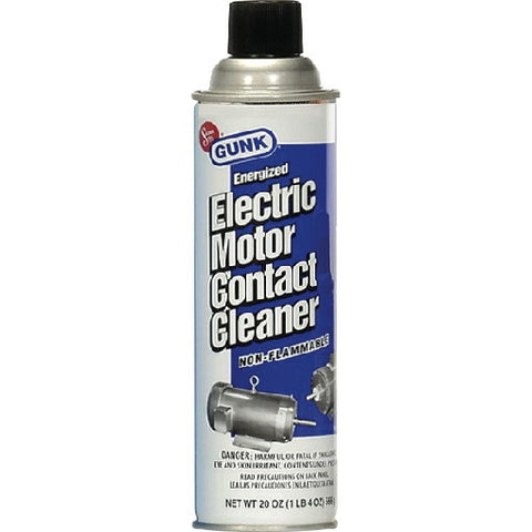 Electric Motor Contact Cleaner 20 Oz