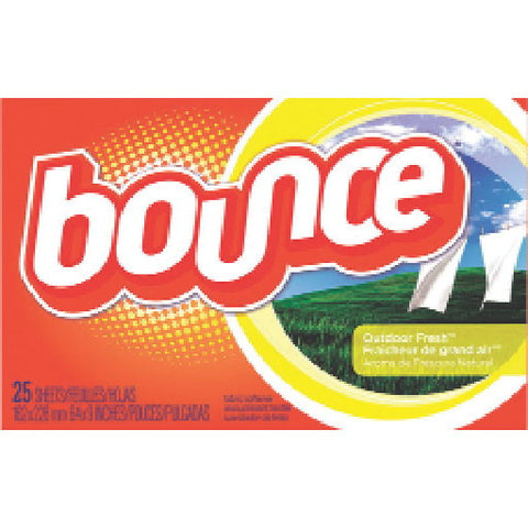 Bounceå¨ Fabric Softener Sheets, Outdoor Fresh Scent, 160 Sheets Per Box
