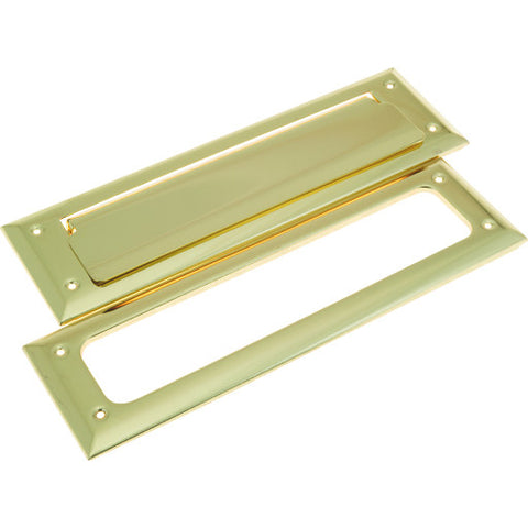 Mail Slot, Polished Brass
