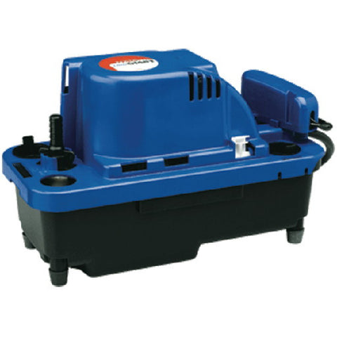 Franklin Electric Vcmx Series Automatic Condensate Removal Pump With 20-Foot Cord, 1-30 Hp, 1.5 Amps, 84 Gph, 5 Lbs.