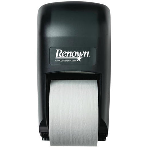 Renownå¨ Vertical 2-Roll Bath Tissue Dispenser For Opticoreå¨, Black Translucent, 6-3/4X12-5/16X7 In.