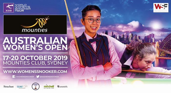 Australia Confirmed for 2nd Consecutive Season for Women's Snooker Tour