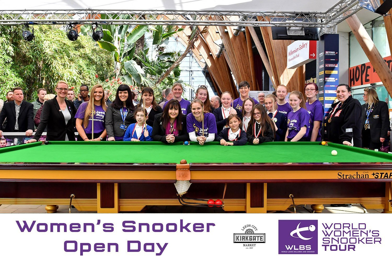 Women's Snooker Open Day 2018