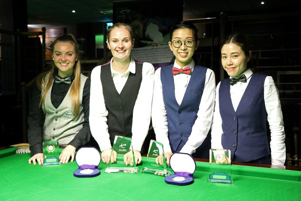 Reanne Evans a Triple Winner at Women's Snooker Festival