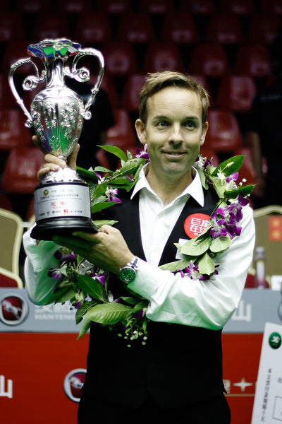Ali Carter with the World Open trophy