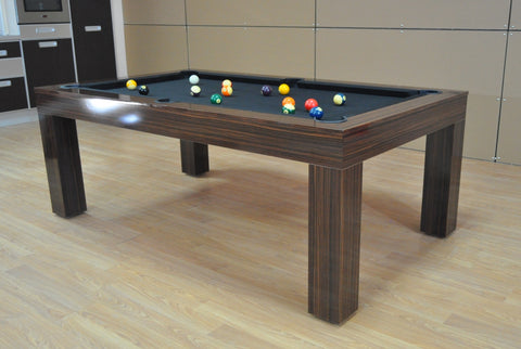 Fortuna Duo Milano Macasser Pool Table