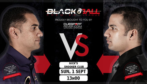 Blackball Pool Tournament in South Africa