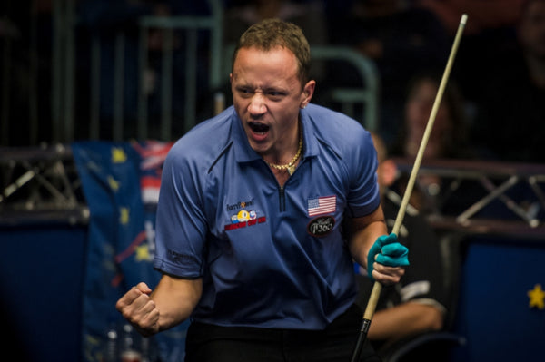 Shane van Boening at the Mosconi Cup