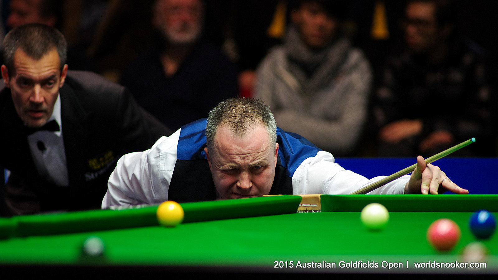 John Higgins at Australian Open - courtesy www.worldsnooker.com
