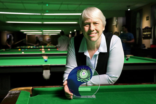 Jenny Poulter World Ladies Seniors Champion